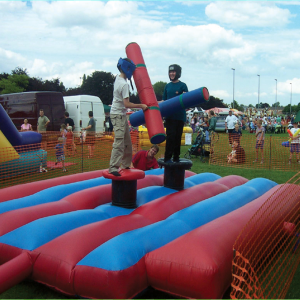 Gladiators Inflatable Hire