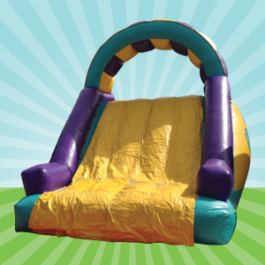 Cargo Net Inflatable Slide Hire