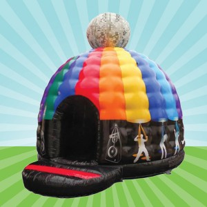 Disco Dome Inflatable Hire