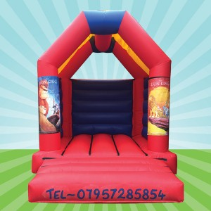 Interchangeable Bouncy Castle 11ft x 12ft