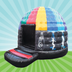 Kids Disco Dome Inflatable Hire